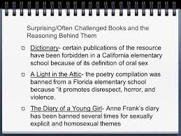 Light In The Attic Book Censorship Banned And Challenged Books By William Eddy And Marcus