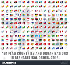 Flags Countries Royalty Free 191 All World Flag Countries And U2026 477331303 Stock