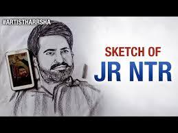 sketch of young tiger jr ntr jai lava kusa telugu movie artist