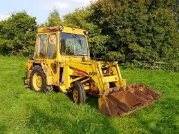 1979 massey ferguson mf40 tractor digger loader reg no dwc 277t
