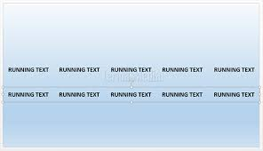 membuat teks berjalan menggunakan html teks berjalan running text di microsoft powerpoint
