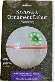 hallmark keepsake ornament debut weekend imperial holocron