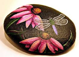 majestic painted garden rocks delightful design 78 ideas about