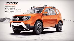 renault duster 2017 black accessories