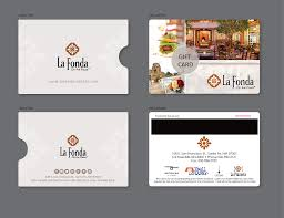 hotel gift card upmarket card design for beltran by alex989 design