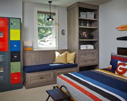 boy room with metal locker houzz