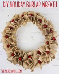 diy burlap wreath the s