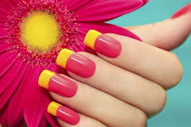 magnificently two toned nail polish applying ideas for cute girls