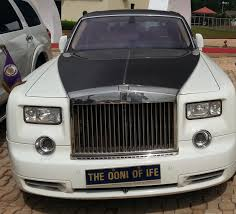 roll royce celebrity ooni of ife u0027s last photo alive oba sijuwade rides rolls royce car