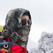 amazon down jacket black friday amazon com balaclava ski face mask thick fleece hood neck warmer