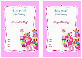 free printable invitations free printable my little pony invitations printable invitations
