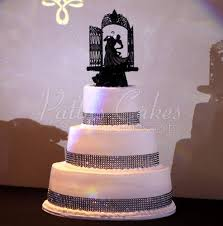bling wedding cake toppers themed wedding cakes archives patty s cakes and desserts