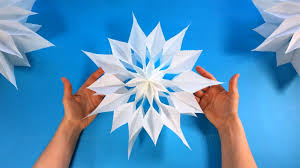 how to make a christmas star with a paper bag diy paper star