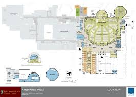 Catholic Church Floor Plans New Church Plans