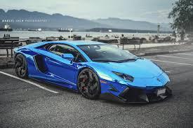 chrome blue lamborghini aventador chrome blue lamborghini aventador front side sssupersports