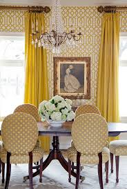 Wallpaper Designs For Dining Room by How To Use Yellow To Shape A Refreshing Dining Room