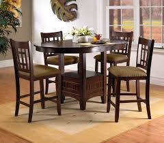 High Bar Table Set Furniture 5 Bar Height Dining Set High Bar Table 3