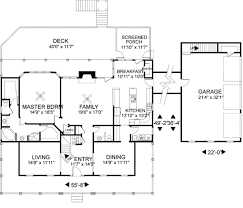 Country House Plans With Wrap Around Porches Country Style House Plan 3 Beds 2 00 Baths 1900 Sqft 430 56 Farm