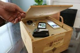 charging box remodelaholic get rid of cord clutter with these 25 diy charging