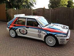 martini livery lancia lancia delta integrale rally car road car cars and motorbikes