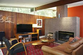 mid century modern living room furniture with fireplace laredoreads