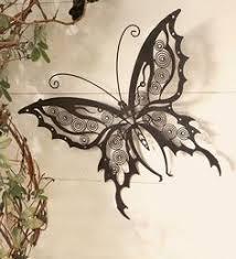 large metal butterfly wall art crafts pinterest metal
