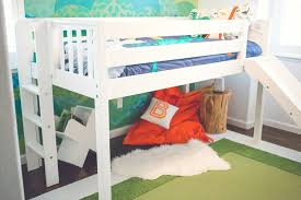 toddler room reveal with a slide bed maxtrix