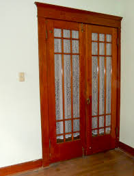 Curtains For Interior French Doors Rustic Interior Sliding French Door With White Curtain Decofurnish