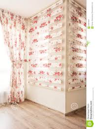 Curtains Blinds Warm Light Through Sheer White Tulle And Vintage Floral Curtains
