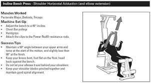 Incline Bench Muscle Group Bowflex Pr1000 Home Gym Review The Ultimate Entry Level Machine
