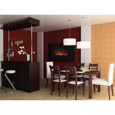 modern flames al 38 inch linear wall mount electric fireplace al