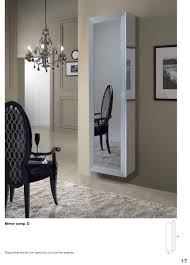 mirror room divider mirror esa linea hall units italy collections
