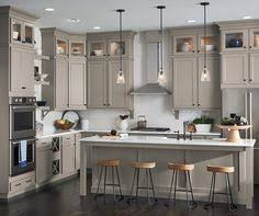 Neutral Color Kitchen - flagstone by aristokraft cabinetry i think marquis is more