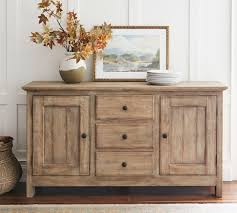 Pottery Barn Benchwright Collection by Benchwright Buffet Hutch Set Seadrift Pottery Barn Ca