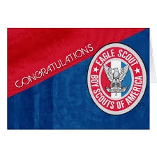 eagle scout congratulations card eagle scout congratulation card zazzle
