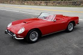 Ferrari California Convertible - my ultimate dream car 1959 ferrari 250 gt california spyder if i
