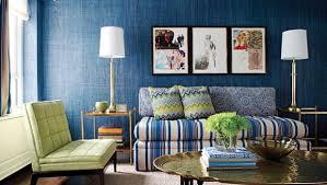 Textured Accent Wall Blue Textured Accent Wall Living Room Decor Crave