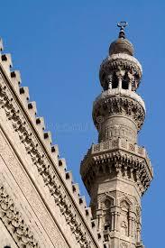 islamische architektur moschee minarett islamische architektur stockfotografie bild
