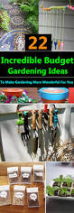 cheap easy and functional diy garden ideas on a budget that ll