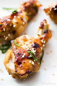 ginger honey chicken wings recipe simplyrecipes com
