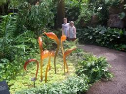 St Louis Botanical Garden Hours Chihuly Glass At The Botanical Garden In St Louis Picture Of