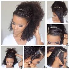 Wash And Go Styles For Transitioning Hair - how to transition from relaxed to natural hair in 7 steps