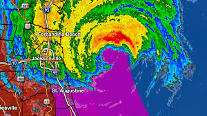 St Augustine Map Matthew U0027s Wrath Continues With Storm Surge Flooding
