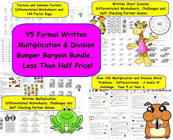 y5 y6 multiplication and division word problems over 160 word
