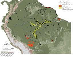 Amazon Maps The Domestication Of Amazonia Before European Conquest