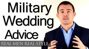 military wedding style clothing advice for groom uniform