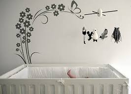 Modern Nursery Wall Decor Baby Nursery Wall Decals Ideas Design Idea And Decorations