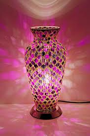 Mosiac Vase Purple Tile Mosaic Vase Lamp Lm79plt Be Fabulous
