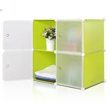 popular cupboard panels plastic kids cube storage wardrobe cabinet