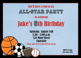 free printable invitations birthday sports birthday invitations u2013 gangcraft net
